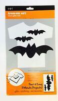 Iron On Art Transfer Glitter Bats Crafts Teacher Supply