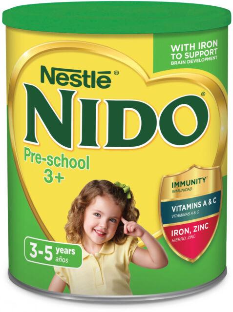Nido 3 Plus Preschool Powdered Milk, 1 76 Pound