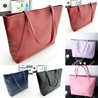 Women Lady Leather Handbag Shoulder Bag Large Tote Messenger Hobo Satchel Purse