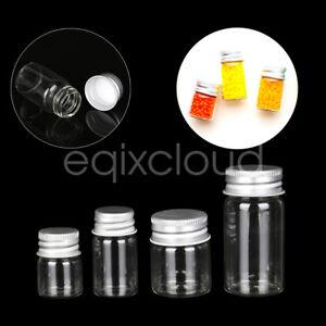 Aluminiumdeckel leer Glasflaschen 5ml 7ml 15ml 25ml Leerflasche Flasche Gläser
