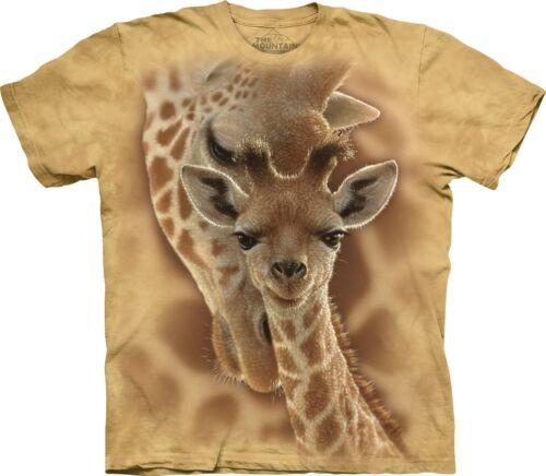 The Mountain Unisex Child Newborn Giraffe Zoo T Shirt