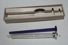 Vintage Bd Yale Tuberculin Syringe With Box Examination Certificate No Needles