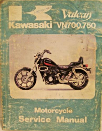 GENUINE KAWASAKI VULCAN VN700.750 SERVICE MANUAL 1985