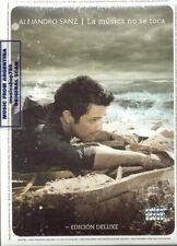 DVD + CD SET ALEJANDRO SANZ LA MUSICA NO SE TOCA DELUXE EDITION SEALED NEW