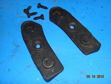 1984,1985,1986 C4 CORVETTE  ROOF PANEL FRONT HOLD DOWN BRACKET SET WITH HARDWARE