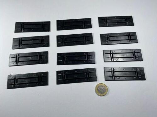 X16 ho 12 STK Herpa placa la placa base del suelo f maleta construcción negro opaco