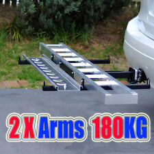 MC400A Towbar Dirt Motor Bike Motorcycle Motorbike 2 arms Carrier Rack with Ramp