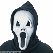 Adults Howling Ghost Scream Mask Halloween Horror Fancy Dress Costume Accessory