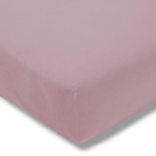 Estella Fein-Jersey Spannbettlaken Spannbetttuch 150 x 200 cm in vielen Farben
