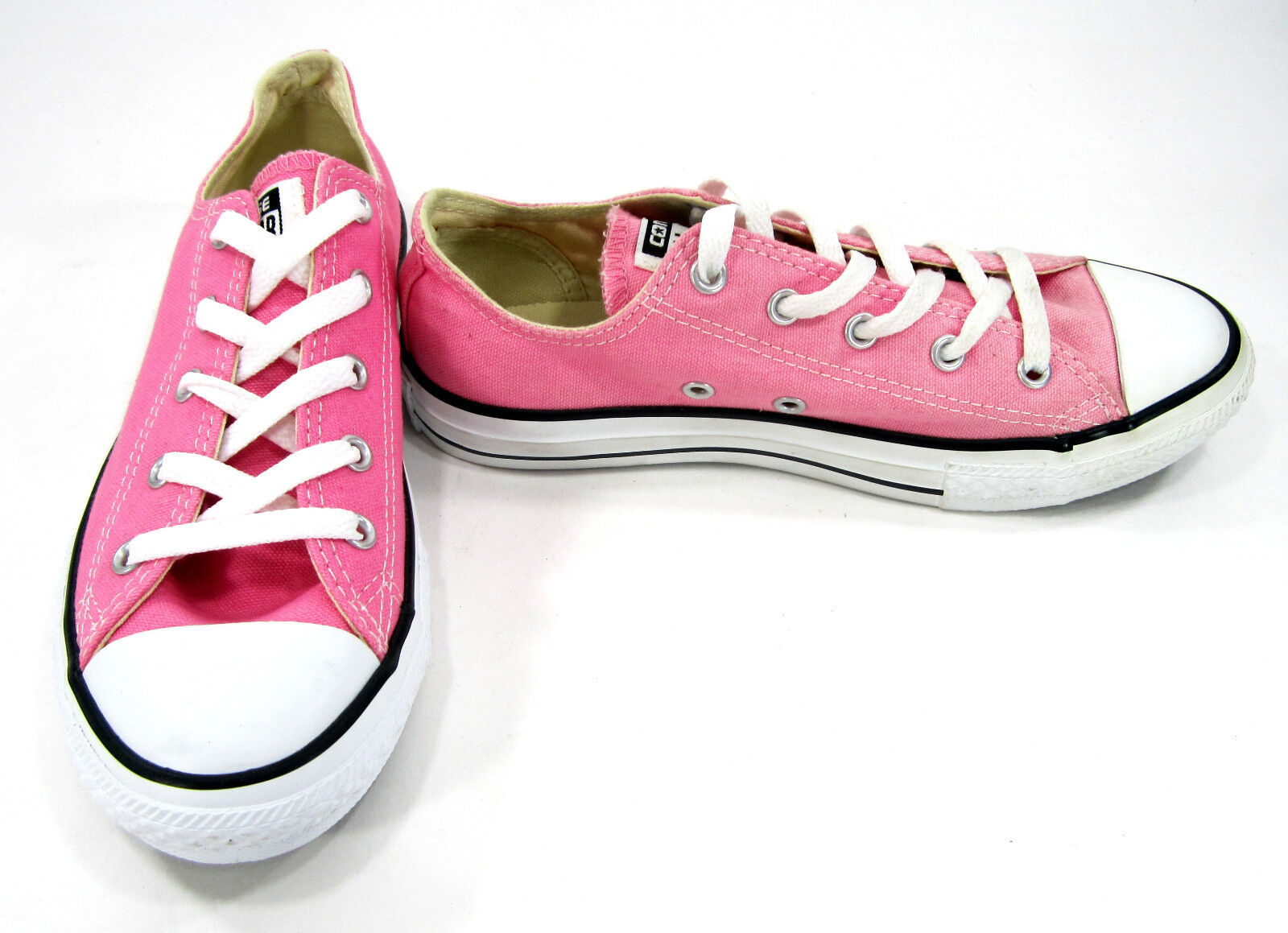 Converse Chaussures Chuck Taylor Ox All Star Baby Rose Sneakers Femme 5