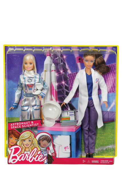 NEW Barbie Careers 2-pack Astronaut and Space Scientist