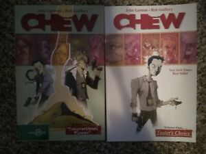 Chew-Volume-1-And-2-Tpb-Graphic-Novel-Set