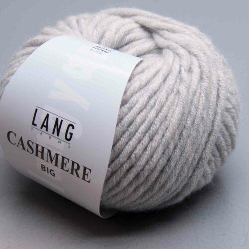 Nadelstärke 9-10 LL 44m 50g Lang Yarns Cashmere Big 23