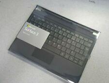 ec9c9f0fcaf New Microsoft Surface 3 Type Cover English - French Keyboard BackLit Keys.  Black