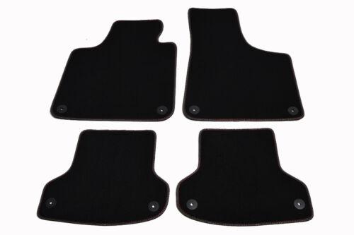 Brillenetui Gratis S-Line Fußmatten AUDI A3 8P////8PA Original Qualität Velours