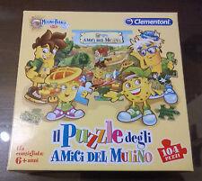 """Gioco Di Societa'/Puzzle """" AMICI DEL MULINO """" Clementoni/104 Pezzi"""