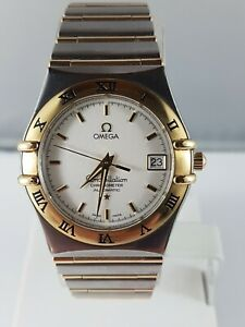 Omega Constellation ,Automatic, 18k gold and stainless, works good