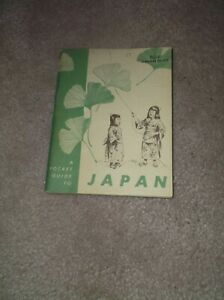 VINTAGE-DOD-POCKET-GUIDE-TO-JAPAN-1952-RARE-COLLECTABLE