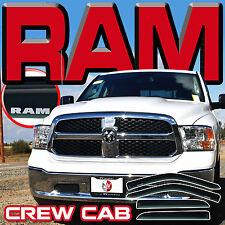 09-17 Ram Crew Cab Vent Shades Rain Guards Sun Visors Window Deflector with Logo