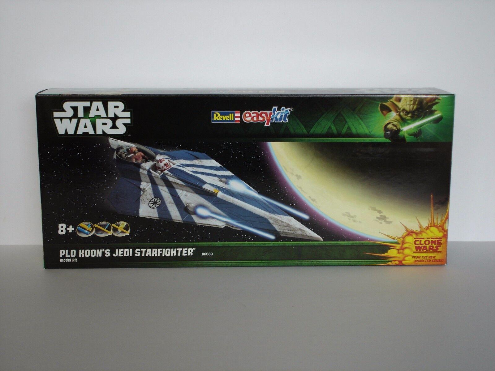STAR WARS Plo Koon's Jedi Starfighter (Clone Wars) - Easykit - Revell 06689