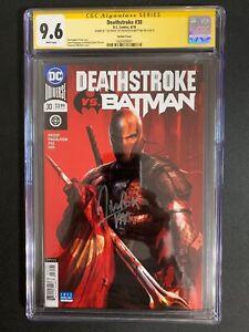 Deathstoke-30-Variant-Cover-CGC-9-6-SS-Mattina-DC-Comics