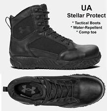 un poco Reducción Abreviatura  Under Armour 1276375 UA Mens Stellar Tac Protect Tactical BOOTS Black Size  9 for sale online | eBay