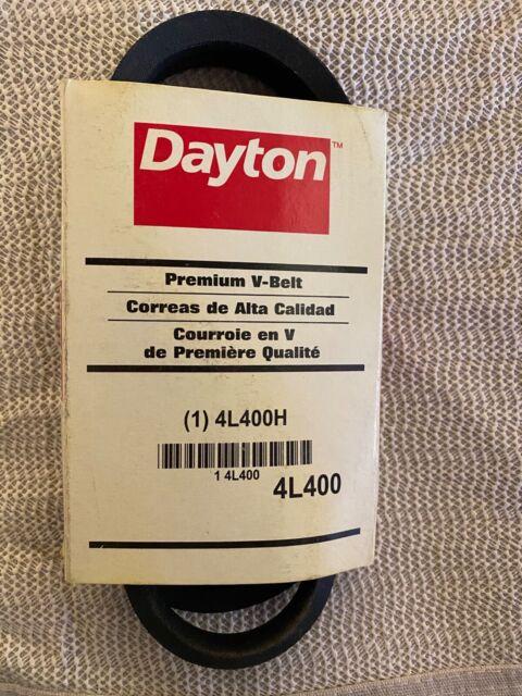 Dayton V-Belt 4L400-4L400 Pack of 5