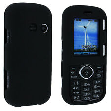 Black Snap-on Hard Case Cover for LG Cosmos Vn250