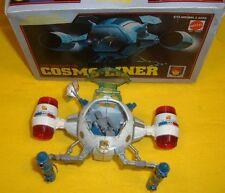 COSMO LINER FUTURE CAPITAN FUTURO captain flam METAL MATTEL POPY PB79 wREPRO BOX