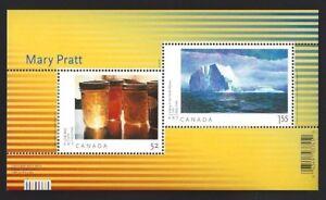 Canada-2212-SS-ART-CANADA-MARY-PRATT-Brand-New-2007-Pristine-Gum-Issue