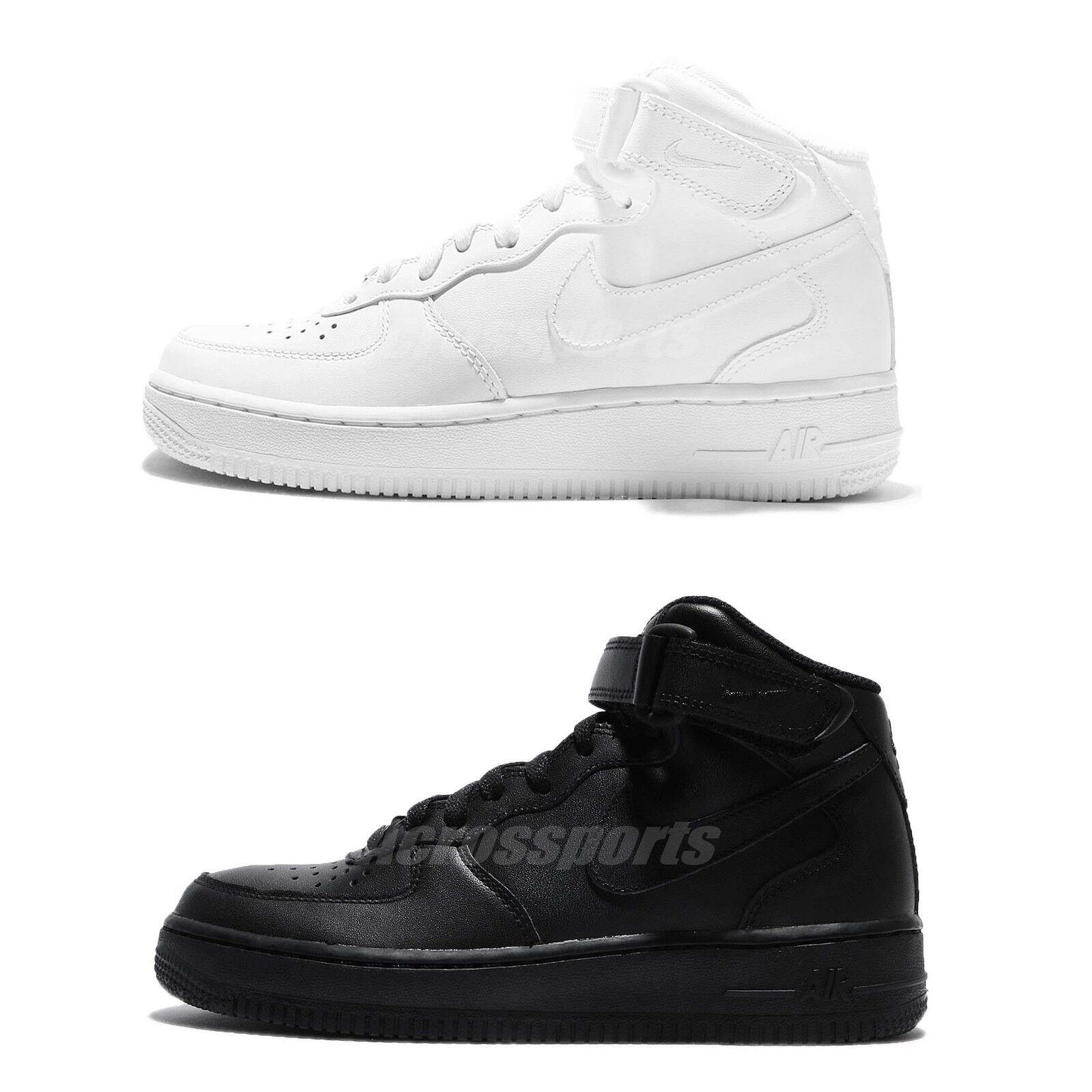 Nike air force 1 metà 07 le uno uno uno nero   bianco uomini classico scarpe scarpe a 1 | Nuovo Stile  | Uomo/Donne Scarpa  3df7e4