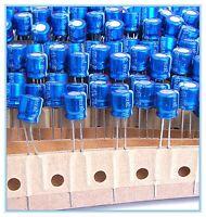 (16pcs) 220uf 6.3v Radial Electrolytic Capacitors 6.3v220uf Panasonic M Series