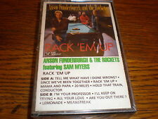 Anson Funderburgh/Rockets CASSETTE NEW Rack Em Up