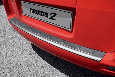 D375-V4-080F-S2 Genuine Mazda 2 2005-2007 Rear Bumper Step Plate