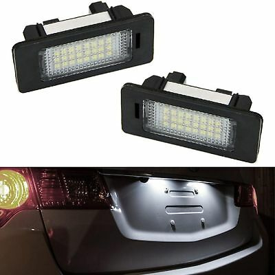 ECLAIRAGE PLAQUE LED BMW SERIE 3 E36 BERLINE TOURING COUPE CABRIOLET BLANC XENON