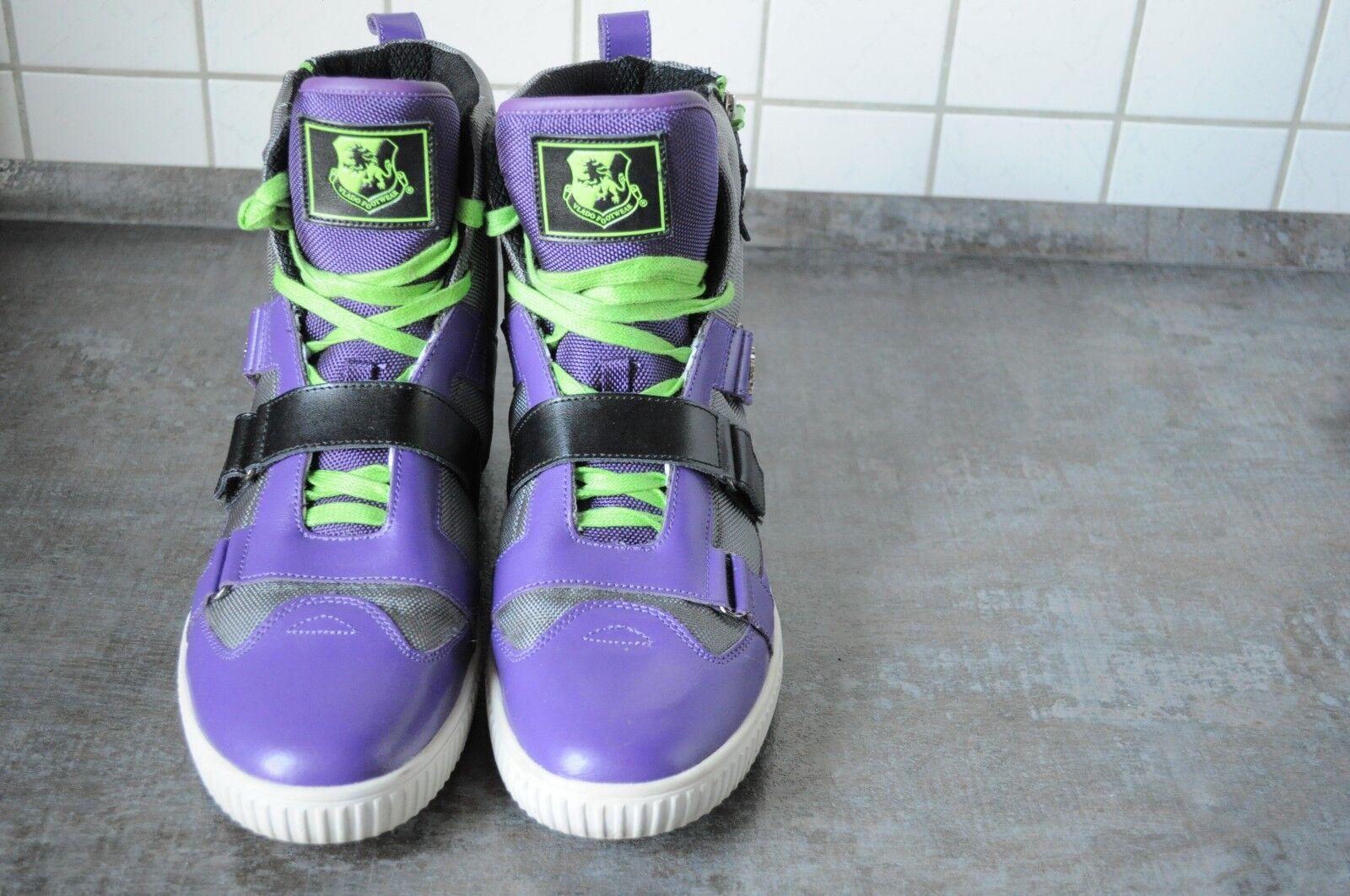 Vlado Sneaker Gr46 Farbe lila/grau/schwarz/weiss/neon lila/grau/schwarz/weiss/neon Farbe gruen 988750
