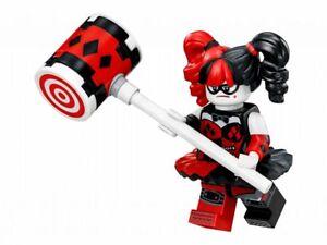 Lego Super Heroes New Harley Quinn Mini Figure W Hammer From 70916 W Tracking Ebay