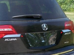 2PC-Stainless-Steel-Trunk-Hatch-Accent-Trim-TP27297-For-ACURA-MDX-2007-2013