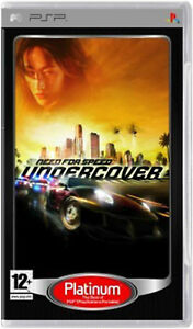 NEED FOR SPEED UNDERCOVER PSP SONY PLAYSTATION PORTABLE NUOVO PLATINUM ITALIANO