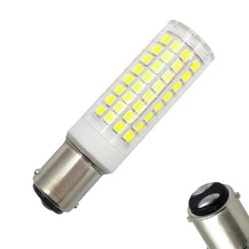 2pcs BA15D 1142 102-2835 LED Light Bulb 120V Ceramics Lights White Replace 85W