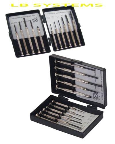 11 pièces Jeu de tournevis Petites Vis Jewellers Lunettes PC Portable Montre Réparation