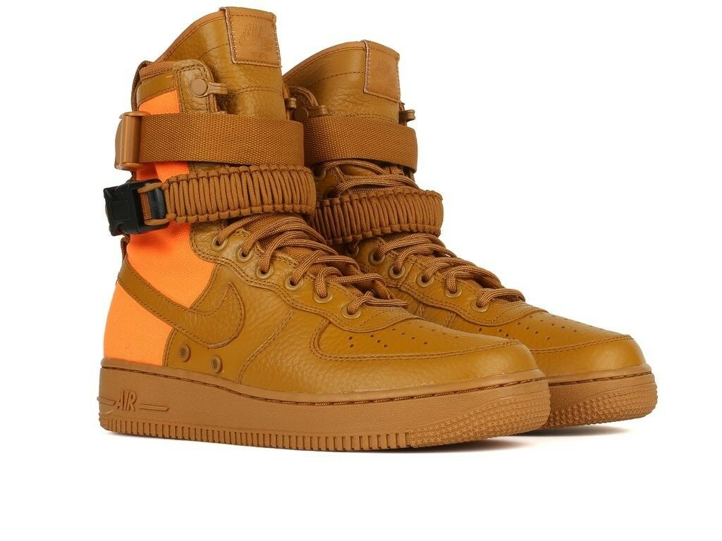 Nuove Nike Sf Af1 Qs Speciale Campo Sz 10 Air Force 1 Deserto Ocra 903270-778