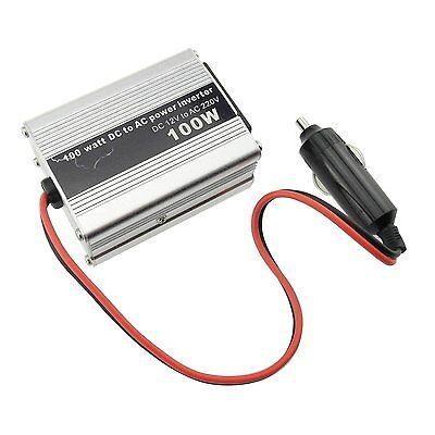 100W Power Inverter Car DC 12V to AC 220V AU Outlet 5V USB Port for Laptop Phone