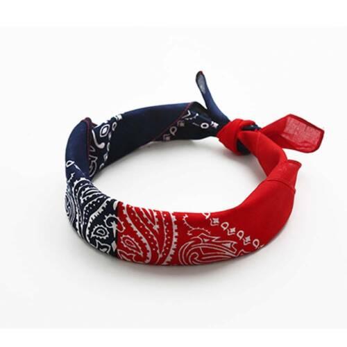 NEW Paisley Bandana Scarf Biker Cowboy Neckerchief Tie Wrap Scarves CHO
