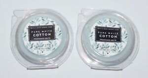 LOT OF 5 BATH /& BODY WORKS PURE WHITE COTTON WAX MELTS TART WHITE BARN CANDLE