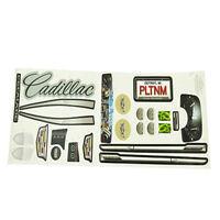 Power Wheels Cdd12 Cadillac Escalade Label Decal Sheet Genuine