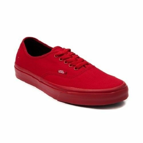 NEW Vans Authentic Skate Schuhe ROT Mono October Yeezy Damenschuhe Sneakers ALL Größes