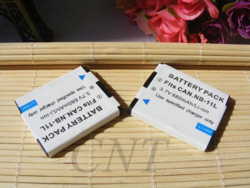 Batería NB-11L//usb Cargador para Canon PowerShot ELPH 110 130 150 320 340 Hs