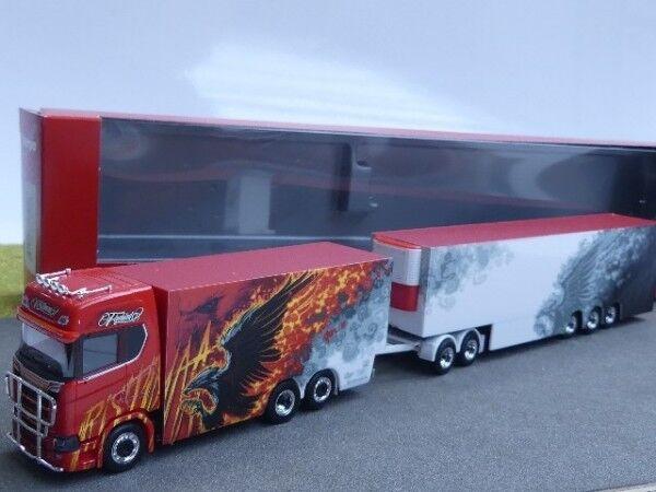 1 87 Herpa Scania CS 20 HD EuroCombi ristimaa Fire Bird (FIN) 308489