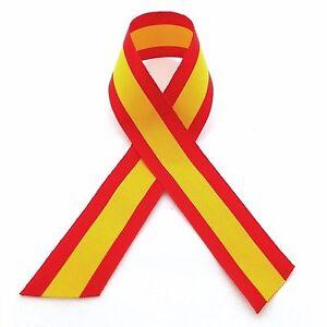 Cinta-bandera-Espana-para-COCHE-retrovisor-o-MOTO-tela-poliester-24mm